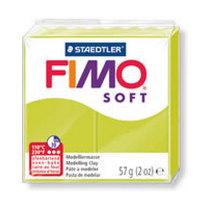 Полимерная глина Fimo Soft, 56г, №52, лимон-лайм