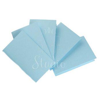 Набор заготовок для открыток 10,3х7см 5шт,№5, цвет голубой,220г/м2
