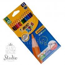 Набор цветных каучуковых карандашей, 12 цв.