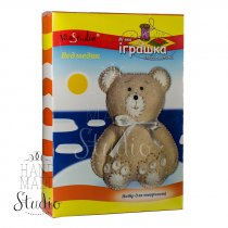 Набор мягкая игрушка своими руками Медвежонок