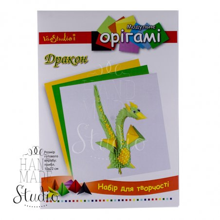 "Набор для творчества модульное оригами ""Дракон"""