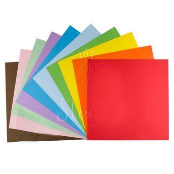Бумага для классического оригами Радуга,20х20см,50л.
