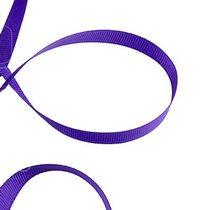 Репсовая лента 1 см, цвет - фиолетовый