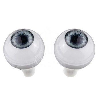 Акриловые глаза для кукол, цвет - светло-сиреневые, 14 мм. Арт. G14LD-07