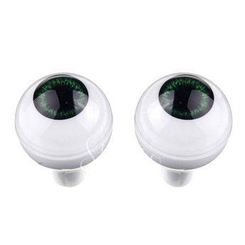 Акриловые глаза для кукол, цвет - серо-зеленые, 14 мм. Арт. G14LD-06
