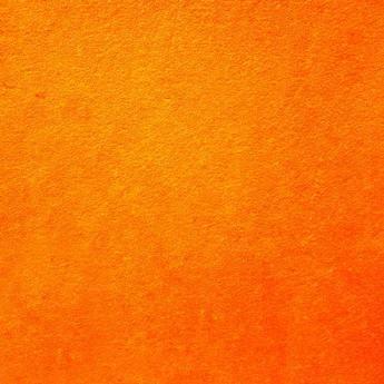 Фетр жесткий 1мм, цвет неоновый оранжевый