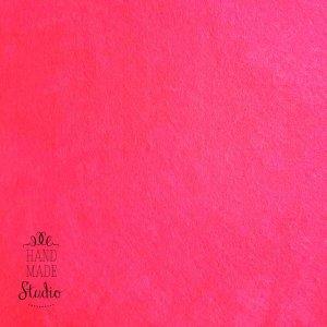 Фетр жесткий 1мм, цвет неоновый розовый