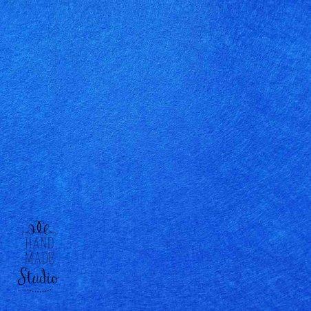 Фетр жесткий 1мм, цвет синий