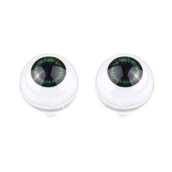 Акриловые глаза для кукол, цвет - серо-зеленые, 12 мм. Арт. G12LD-06