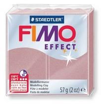 Полимерная глина Fimo Effect, №207 перламутровый розовый, 57 г