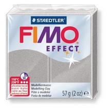 Полимерная глина Fimo Effect, №817 перламутровый светло-серебристый, 57 г