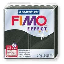 Полимерная глина Fimo Effect, №907 перламутровый черный, 57 г