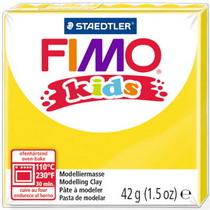 Полимерная глина Fimo kids №1, желтый, 42 г