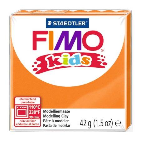 Полимерная глина Fimo kids №4, оранжевый, 42 г