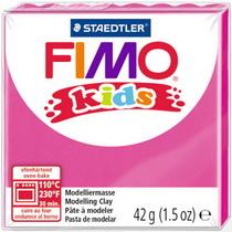 Полимерная глина Fimo kids №220, фуксия, 42 г