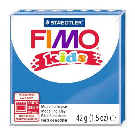 Полімерна глина Fimo kids №3, синій, 42 г