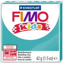 Полимерная глина Fimo kids №39, бирюзовый, 42 г
