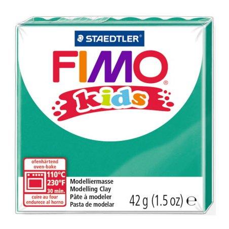 Полимерная глина Fimo kids №5, зеленый, 42 г
