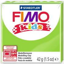 Полимерная глина Fimo kids №51, салатовый, 42 г