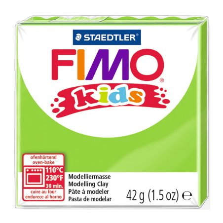 Полімерна глина Fimo kids №51, лайм, 42 г