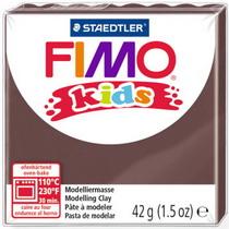 Полимерная глина Fimo kids №7, шоколадный, 42 г