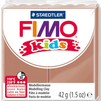 Полимерная глина Fimo kids №71, светло-коричневый, 42 г