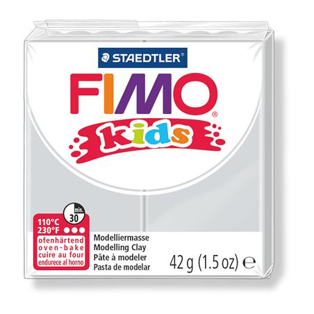 Полимерная глина Fimo kids №80, светло-серый, 42 г