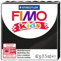 Полимерная глина Fimo kids №9, черный, 42 г