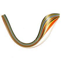 Полоски бумаги разноцветные, 12 цветов, 140502
