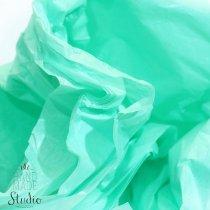 Бумага тишью, цвет -  мятный, 50х70 см, 1 лист