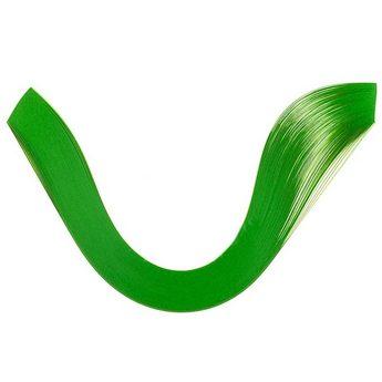 Полоски бумаги однотонные, цвет зеленый, 1605203
