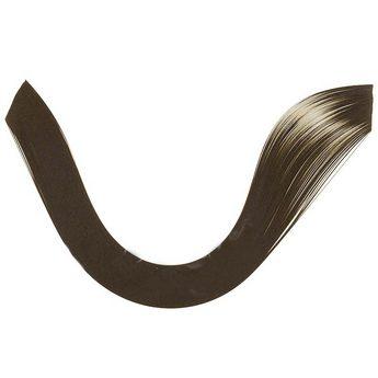 Полоски бумаги однотонные, цвет черный, 1608103