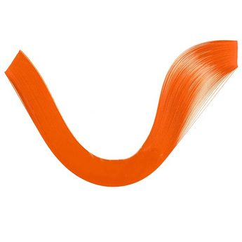 Полоски бумаги однотонные, цвет оранжевый, 1602103