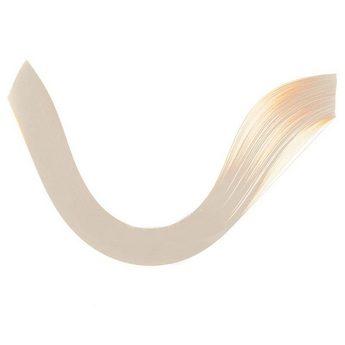 Полоски бумаги однотонные, цвет слоновая кость, 1602605
