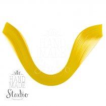 Полоски бумаги однотонные, цвет желтый, 802305