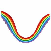 Полоски бумаги разноцветные, 7 цветов,16020603