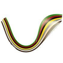 Полоски бумаги разноцветные, 7 цветов,16021105