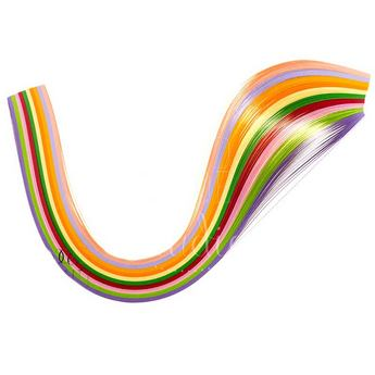 Полоски бумаги разноцветные, 10 цветов, 8020903