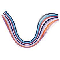 Полоски бумаги разноцветные, 10 цветов, 8020303