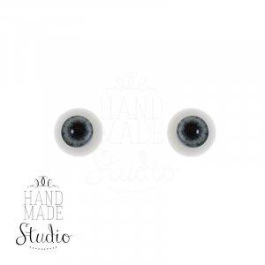 Акриловые глаза для кукол, цвет - светло-сиреневый, 6 мм. Арт. G6LD-07