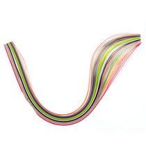 Полоски бумаги разноцветные, 12 цветов, 140503