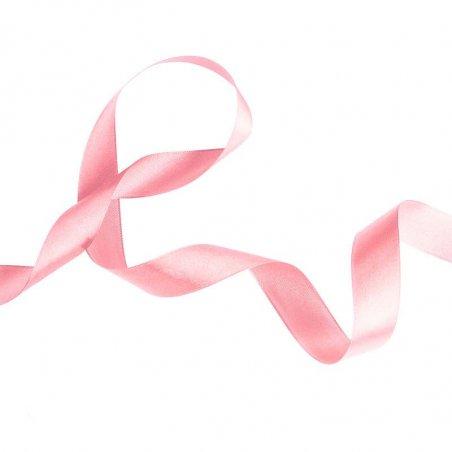 Атласная лента, цвет светло-розовый,25 мм