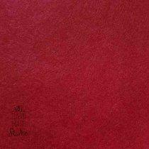Фетр жесткий 1 мм, цвет бордовый