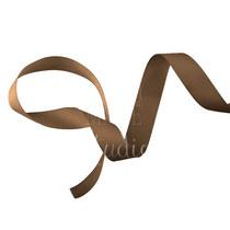 Репсовая лента 2,5 см, цвет - шоколадный