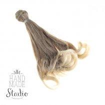 Искусственные волосы локоны на трессе 15 см №38