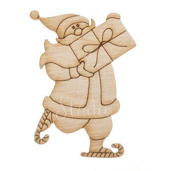 Деревянная заготовка Санта Клаус