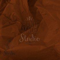 Бумага тишью, цвет -  шоколадный, 50х70 см, 1 лист