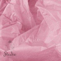 Бумага тишью, цвет -  персиково-розовый, 50х70 см, 1 лист
