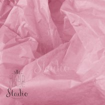 Бумага тишью, цвет -  светло-розовый, 50х70 см, 1 лист