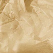 Бумага тишью, цвет -  кофе с молоком